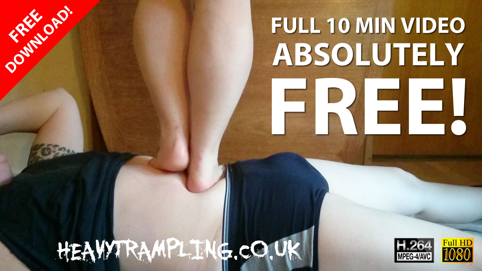 Trampling: 10 Minute Stomach Demolition FREE!