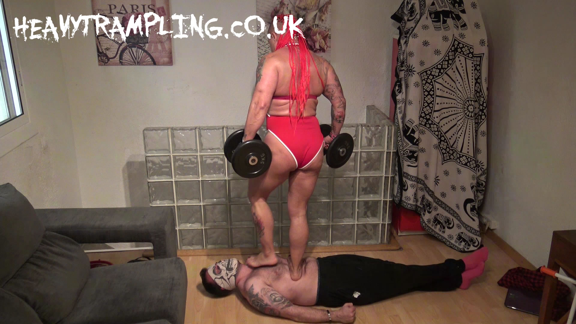 Ruth Big Muscles Weighted Trample 2
